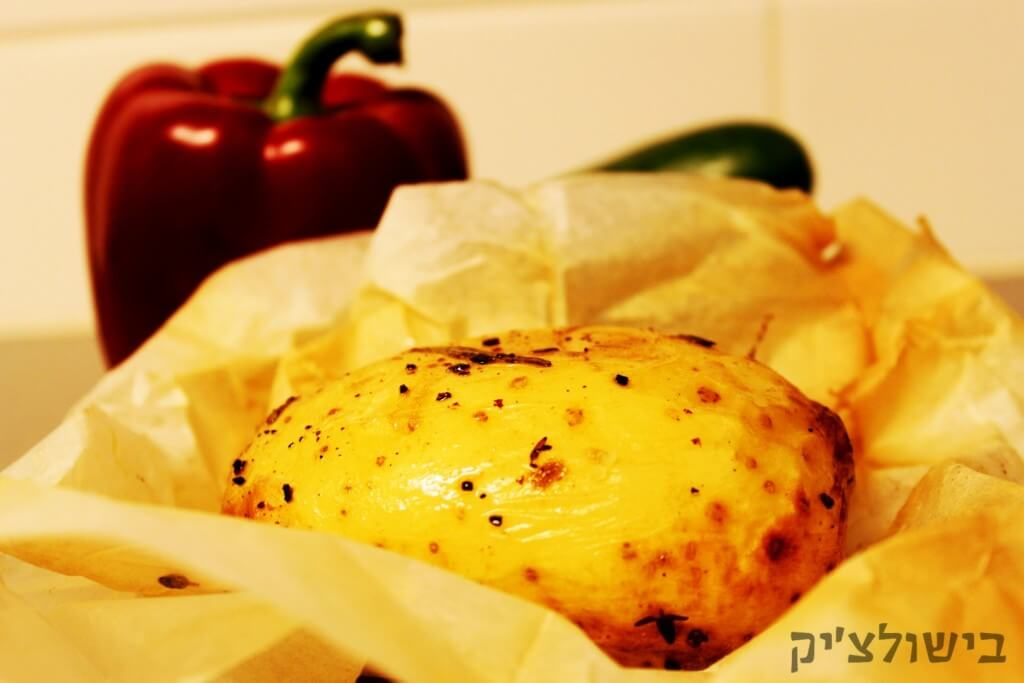 """תפוחי אדמה בתנור בסגנון ל""""ג בעומר"""