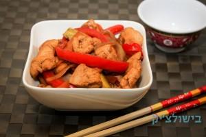 ירקות מוקפצים בסיגנון אסייתי