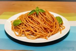 ספגטי ברוטב עגבניות כמו של אמא