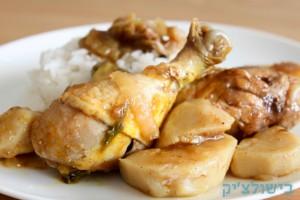 עוף בהרט עם תפוחי אדמה