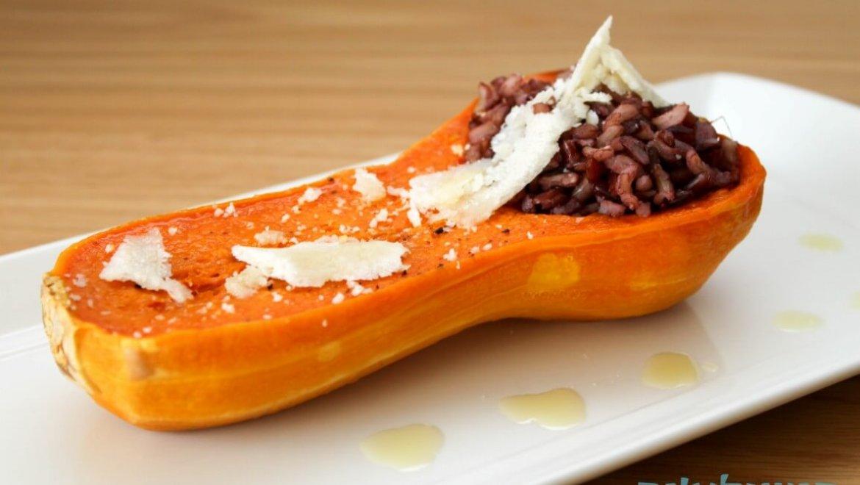 סירות דלורית בתנור עם אורז בר