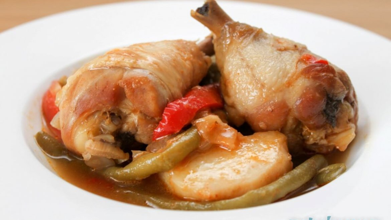 תבשיל עוף ברוטב סילאן