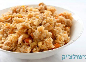 תבשיל פרגיות עם אורז בסיר אחד