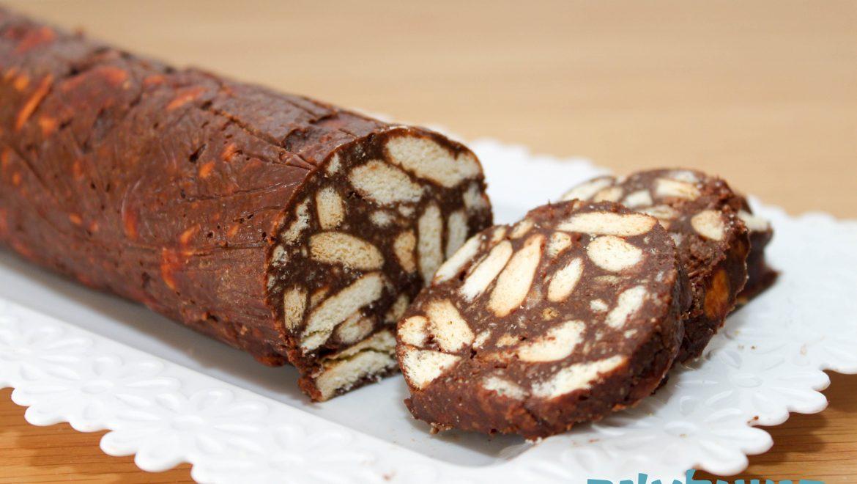 נקניק שוקולד